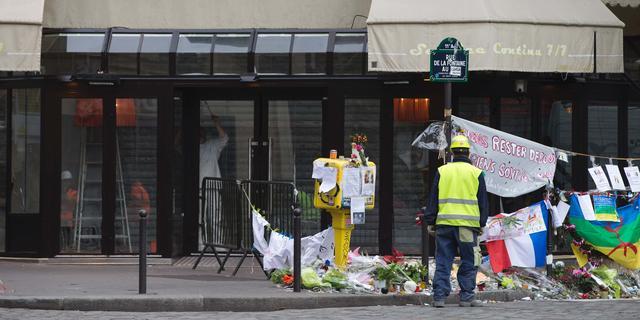 Café aanslagen Parijs vrijdag weer open