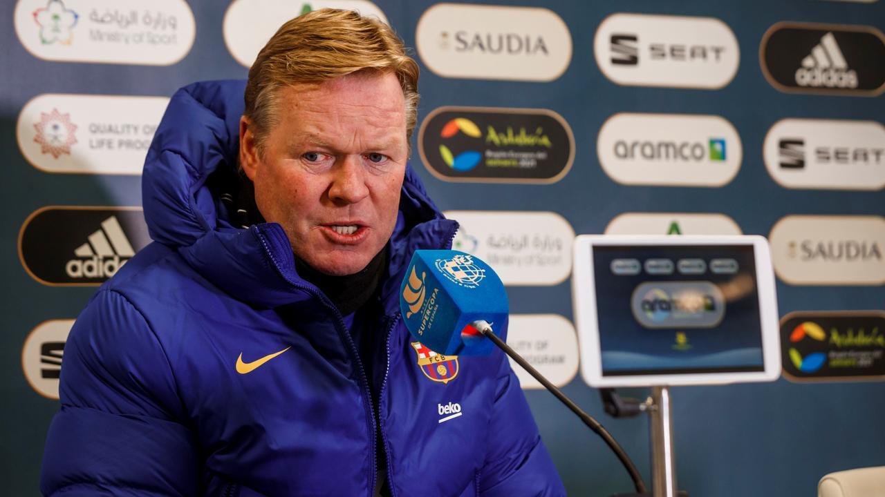 Koeman houdt moed bij wisselvallig Barcelona: 'We kunnen kampioen worden' - NU.nl