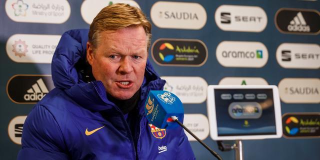 Koeman houdt moed bij wisselvallig Barcelona: 'We kunnen kampioen worden'