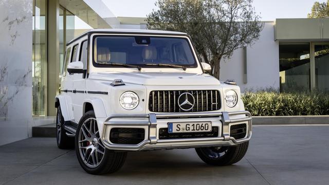 Mercedes-AMG G 63 kost meer dan twee ton