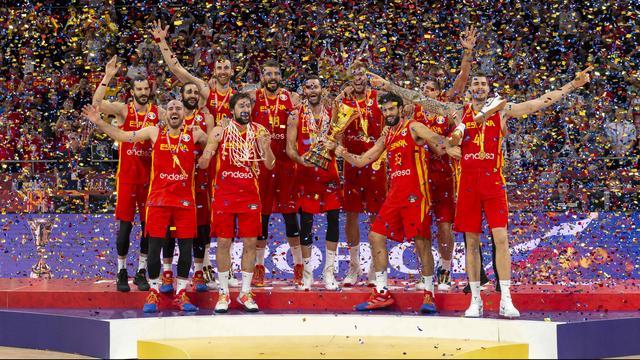 Spanje verslaat Argentinië en volgt VS op als wereldkampioen basketbal