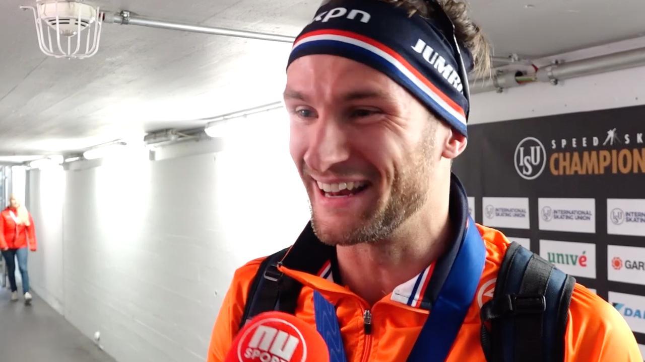 Krol verrast met goud: 'Ik ben gewoon wereldkampioen'