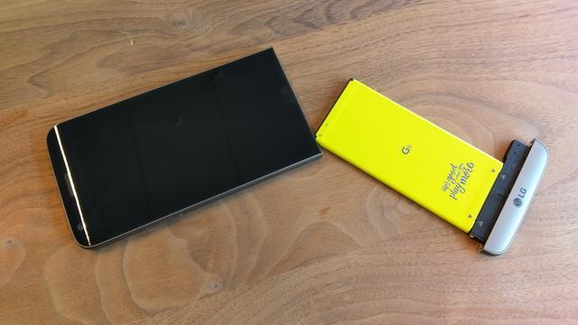 'LG G6 krijgt irisscanner en vervangbare batterij'