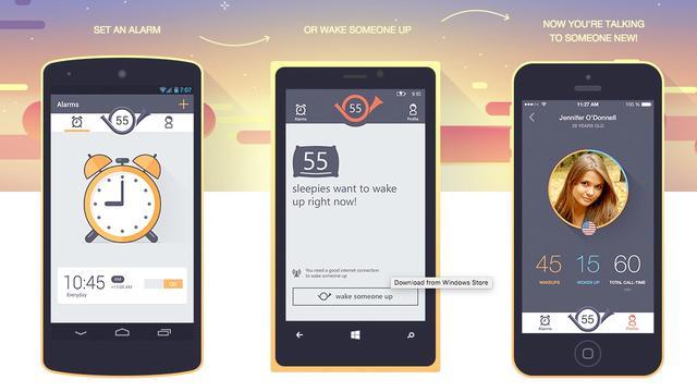 Menselijke wekker-app Wakie beschikbaar in Nederland