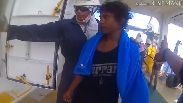 Vrachtschip redt Indonesische tiener na 49 dagen op zee