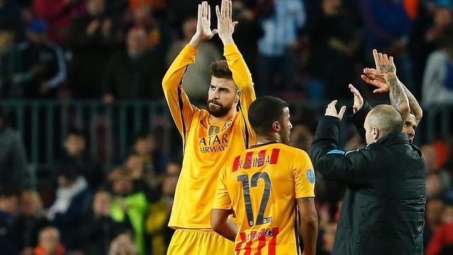 FC Barcelona aast op twaalfde halve finale in Champions League