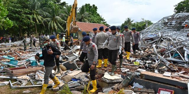 Dodental tsunami Indonesië stijgt naar 281, ruim duizend gewonden