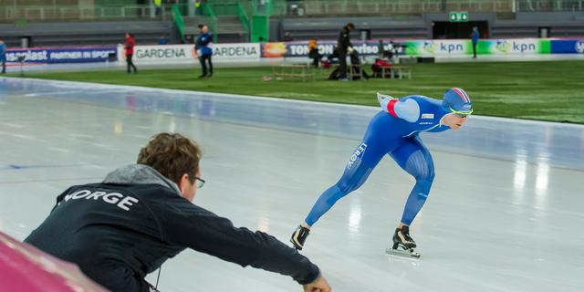 Wereldbekerzege Pedersen en Sáblíková, geen Nederlandse medaille