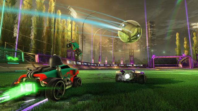 Autovoetbalgame Rocket League naar andere platformen
