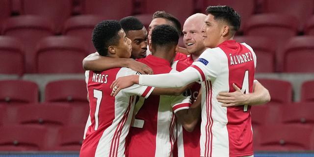 Ajax wint ook thuis van Lille en staat na vier jaar weer in achtste finales EL