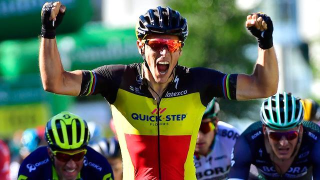 Gilbert wint tweede etappe Ronde van Zwitserland, Küng nieuwe leider