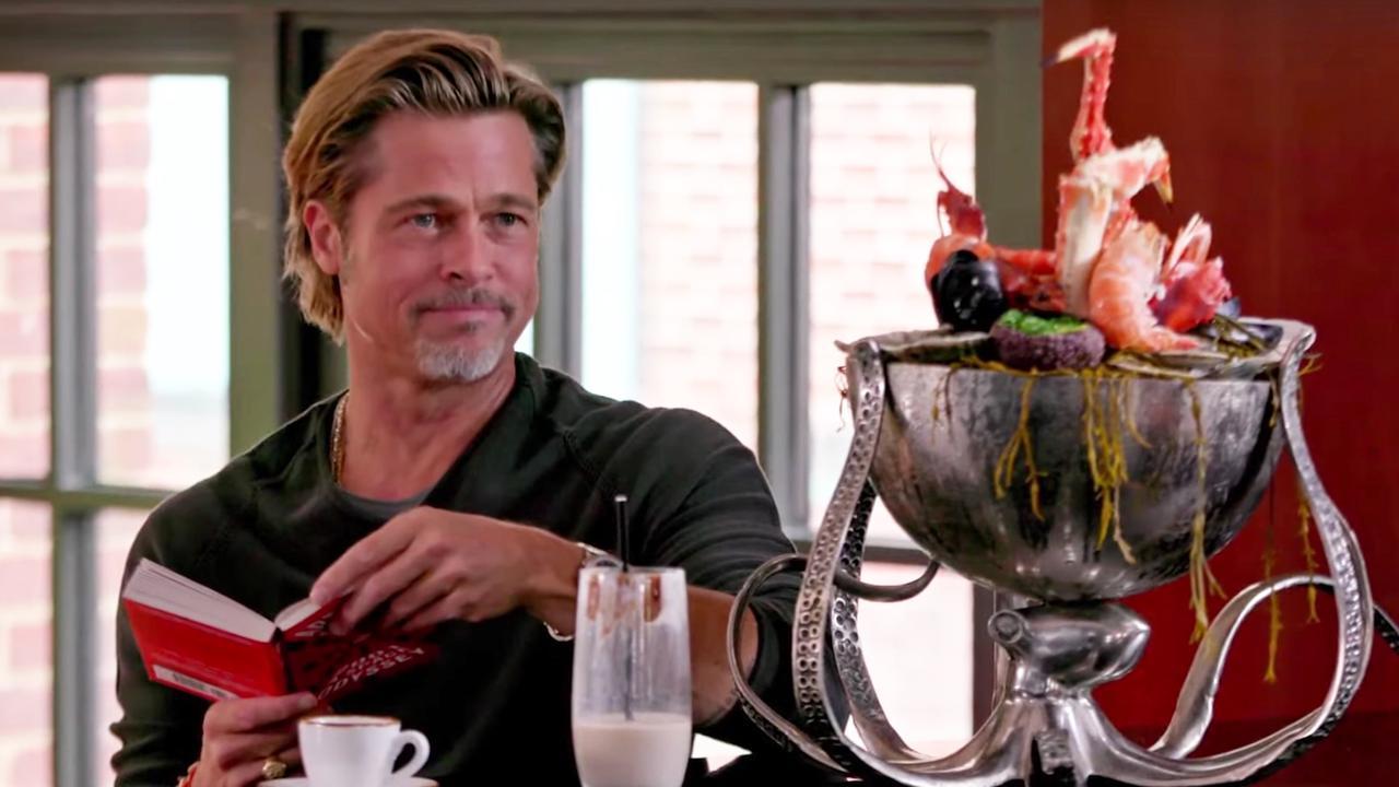 Haantjesgedrag tussen Brad Pitt en Jimmy Fallon loopt uit de hand