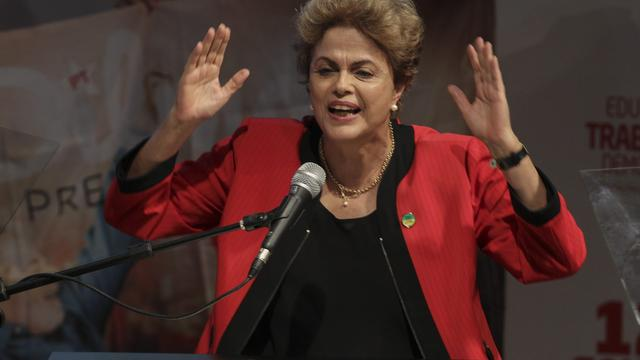 Afzettingsprocedure tegen Braziliaanse president Rousseff