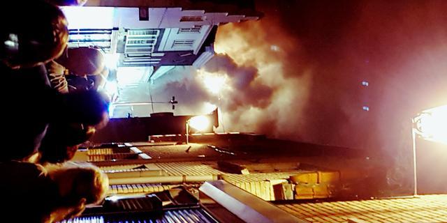 Verdachte vast voor grote brand Leerdam