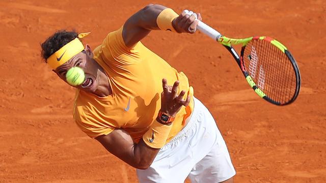 Nadal eenvoudig verder in Monte Carlo, Djokovic moeizaam langs Coric
