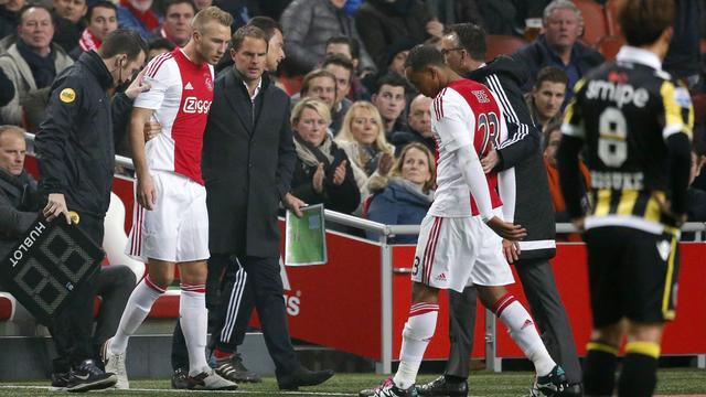 Mike van der Hoorn vervangt Kenny Tete