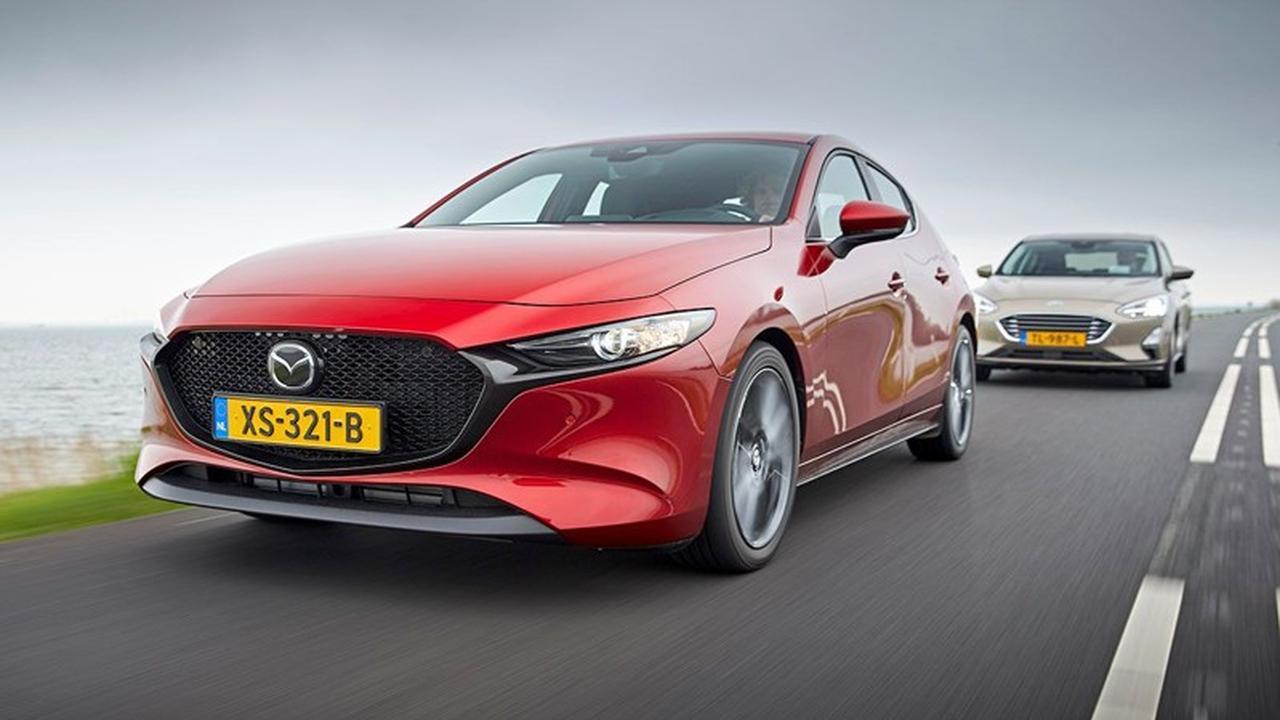 Eerste dubbeltest: Mazda 3 tegen Ford Focus