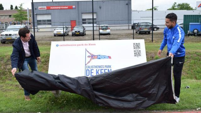 Sportpark Calisthenics in Etten-Leur officieel geopend