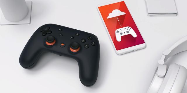 Google Stadia maakt gamen met smartphone als controller mogelijk
