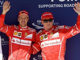 Verschil tussen Vettel en Hamilton loopt op naar veertien punten