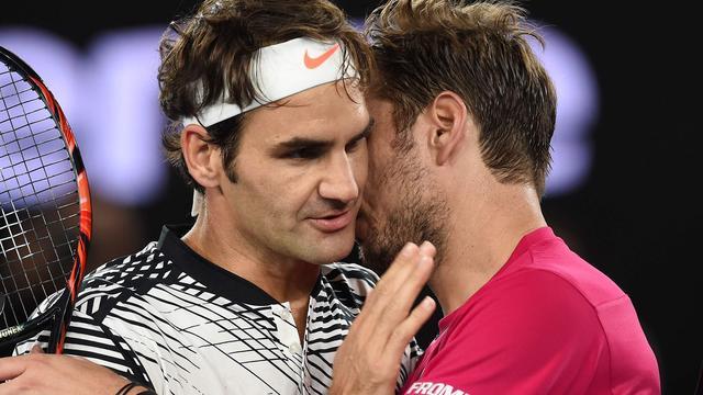 Federer ten koste van Wawrinka naar finale Australian Open
