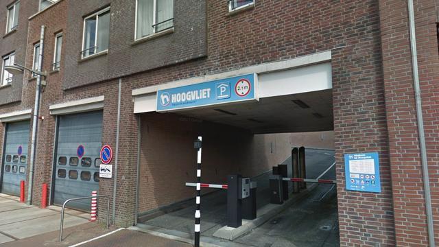 Parkeerdak van de Hoogvliet aan de Julianastraat is weer geopend