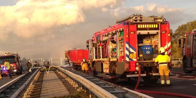A50 naar Arnhem weer vrij na dodelijk ongeluk met vrachtwagen