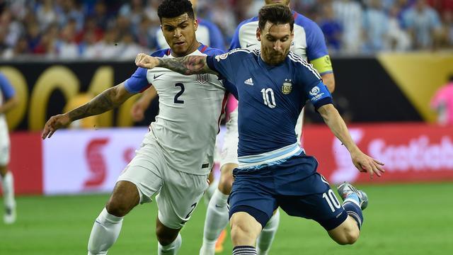 Argentinië naar finale Copa America na zege op Amerikanen