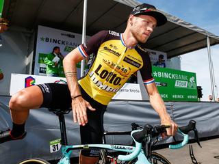 'Ik ben blij dat ik weer op de fiets stap om te koersen'