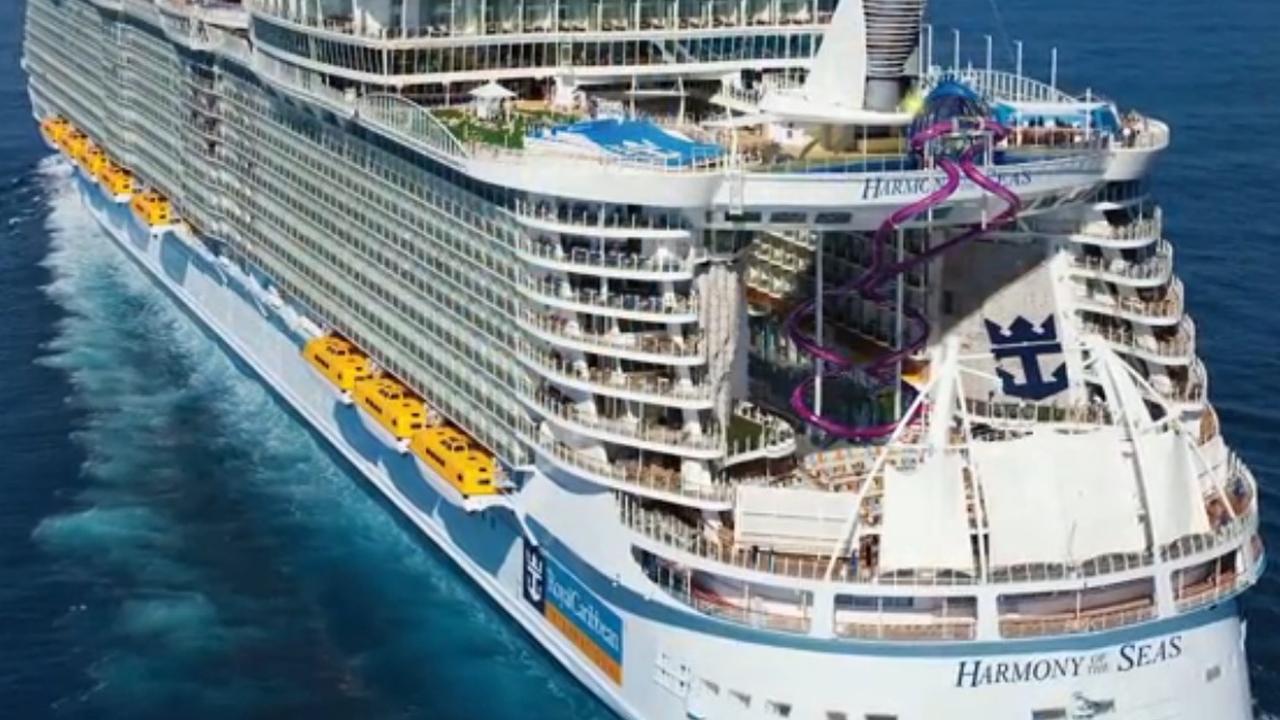 Grootste cruiseschip ter wereld in gebruik genomen