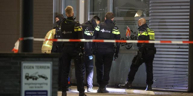 Restaurant aan de Laan van Haamstede in Den Haag beschoten
