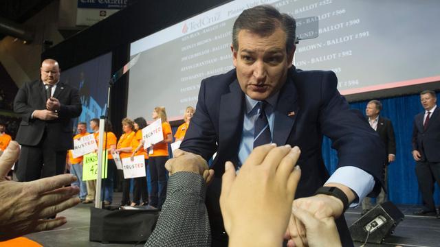 Cruz haalt gedelegeerden staat Colorado binnen