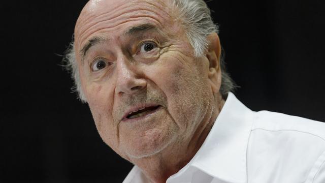 Blatter ontsnapte eerder deze maand naar eigen zeggen aan de dood