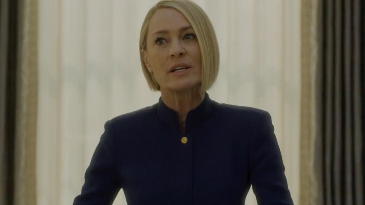 Claire Underwood is genadeloze president in trailer House of Cards