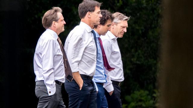 Herstart formatie VVD, CDA, D66 en GroenLinks mislukt