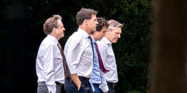 VVD, CDA en D66 praten dinsdag verder