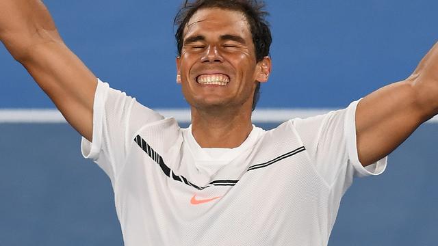 Nadal voor het eerst sinds 2014 bij laatste vier Grand Slam
