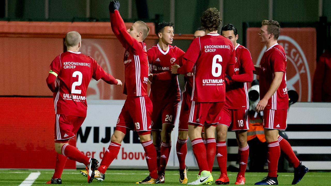 Samenvatting Almere City FC - RKC Waalwijk 3-2