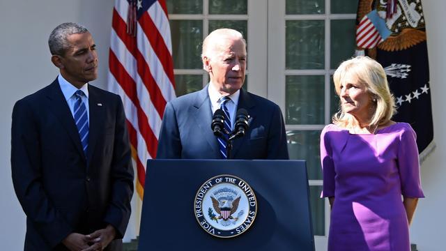 Joe Biden geen presidentskandidaat Verenigde Staten