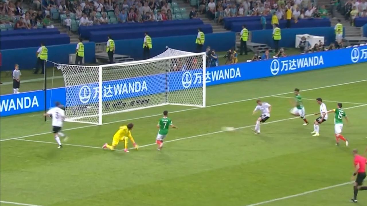 Duitsland verslaat Mexico met 4-1 in halve finale Confederations Cup