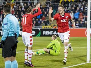 Alkmaarders winnen in Ierland met 1-0