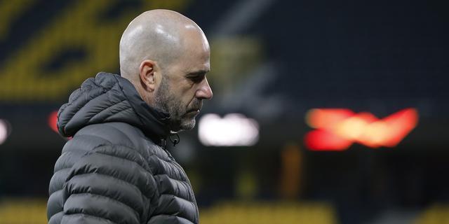 Bosz ergert zich aan 'amateuristisch' verdedigen Leverkusen in spektakelstuk