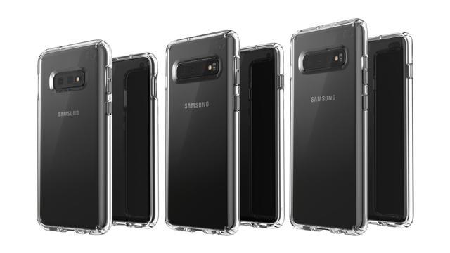 Drie exemplaren Galaxy S10 op gelekte foto te zien