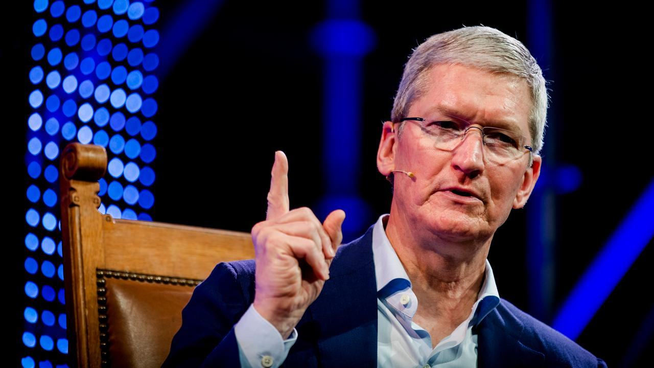 Apple-CEO Tim Cook op Startup Fest in Amsterdam