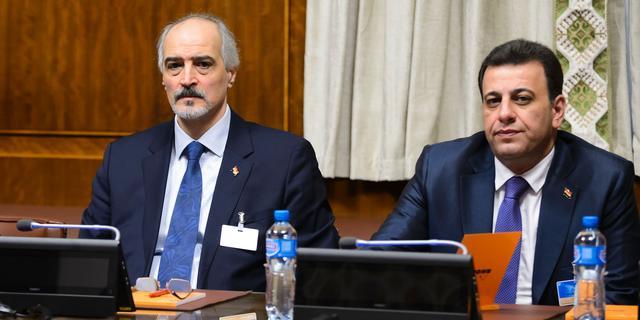 'Syrische regering wil alleen verder onderhandelen met verenigde oppositie'
