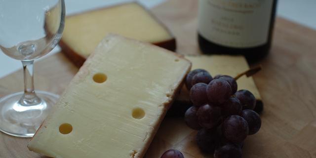 'Wijn smaakt beter in combinatie met kaas'