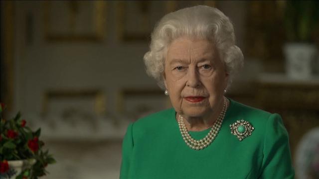 Koningin Elizabeth geeft toespraak: 'We will meet again'
