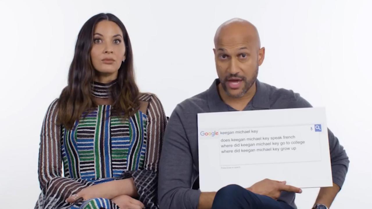 Olivia Munn en Keegan-Michael Key over etniciteit, familie en vechten