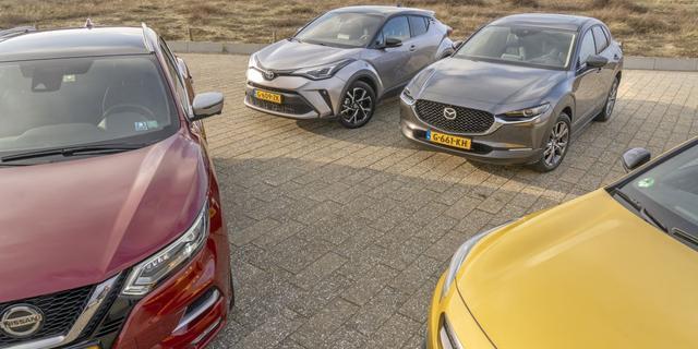 Gemiddelde uitstoot nieuwe auto's in Europa voor het eerst sinds 2016 lager