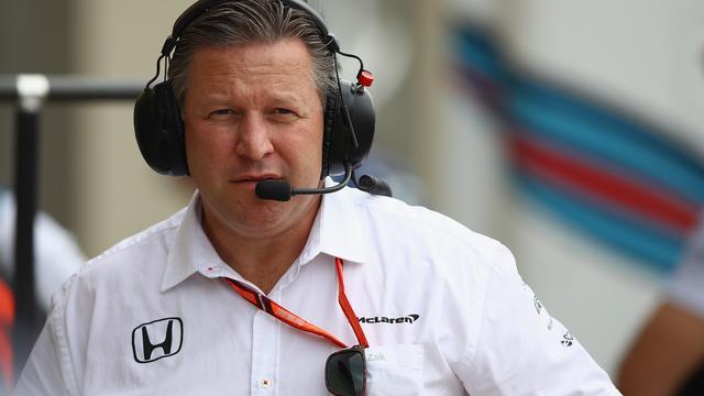 Directeur Brown verwacht dat McLaren pas in 2020 weer goede auto heeft